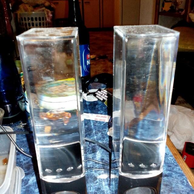 Water feature speakers pr