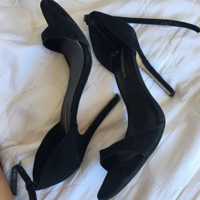 Windsor Smith suede heels