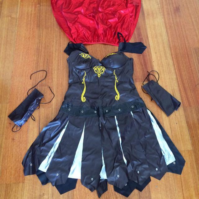 Xena Costume Size 10