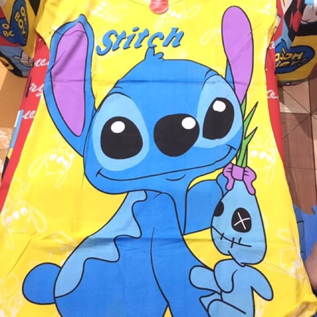Yellos stitch duster for adult