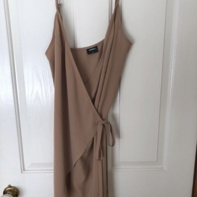 Zachary the label wrap dress