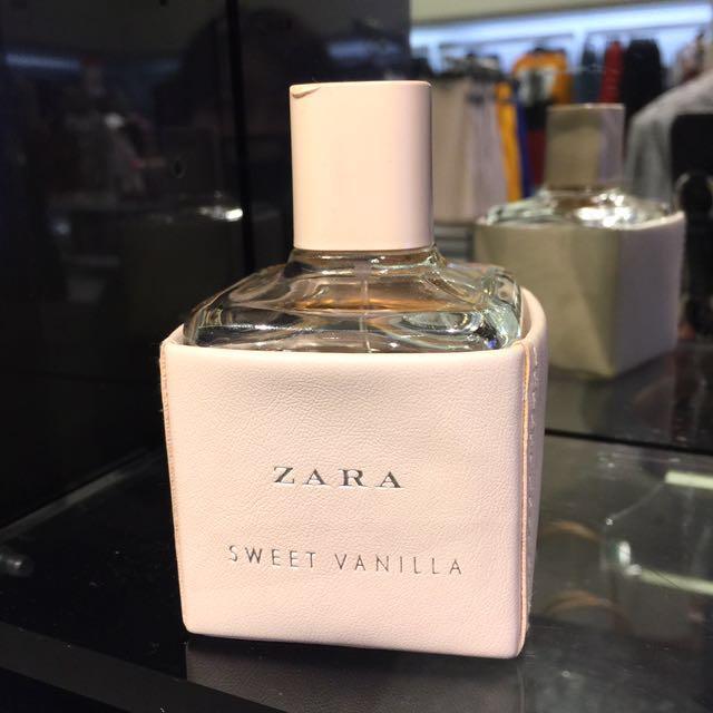全新ZARA淡香水/女香/香氛/香水~100ML (Sweet Vanilla)~生日禮,情人節禮,聖誕禮物,交換禮物