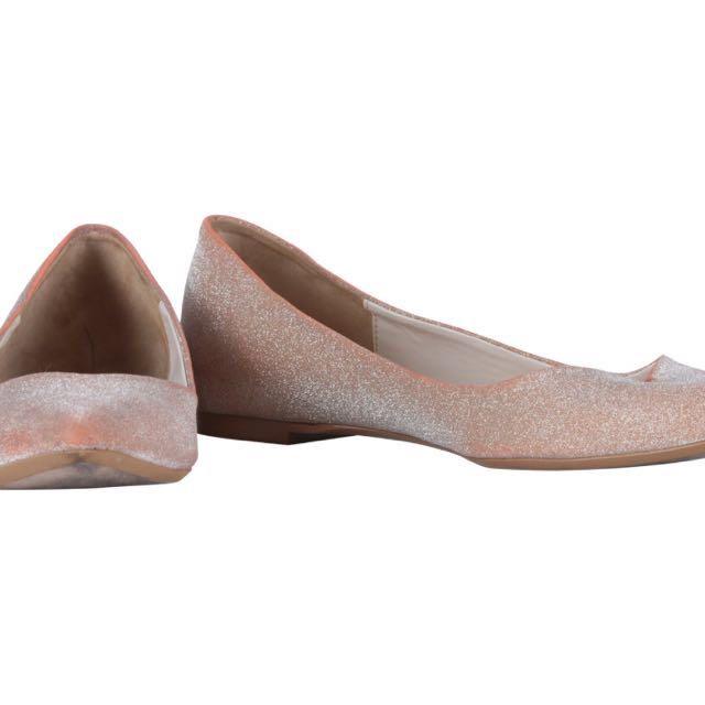 Zara Pink Flatshoes Preloved