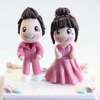 Valentine's Day 3D Figurine