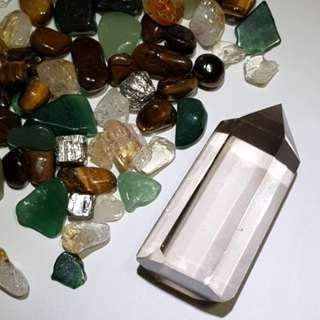 Super Clear Smoky / Smokey Quartz Crystal Point 茶水晶