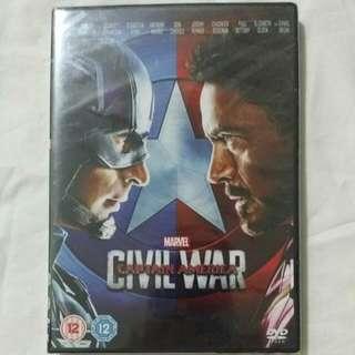 [Movie Empire] Captain America - Civil War Movie DVD