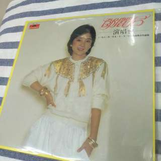 鄧麗君 15週年 現場演唱會 兩碟LP 黑膠唱片