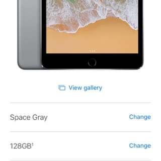 Brand new iPad mini 4 - Grey - WiFi