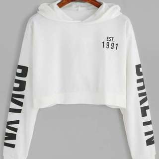 Sweater Wanita  Hodie Crop EST 1991