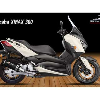 Devil Exhaust Systems Singapore Yamaha XMAX 300 Ready Stock ! Promo ! Do Not PM ! Kindly Call Us !
