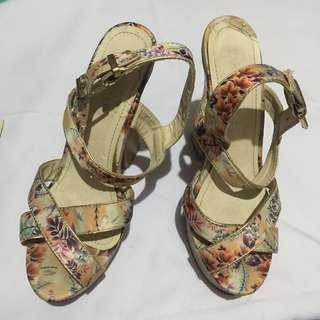 Floral Parisian Heels