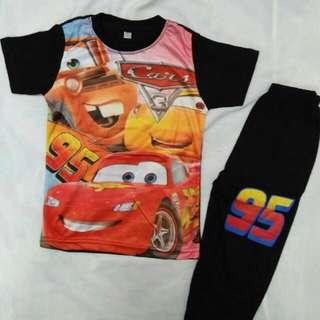 Baju Kanak Kanak CARS