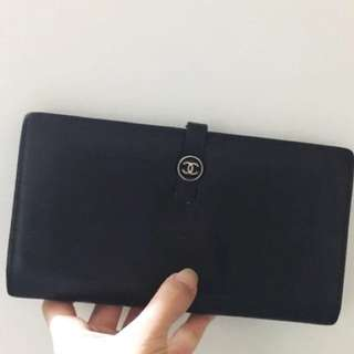 Authentic Chanel Wallet CC logo Not LV Hermes YSL Cartier