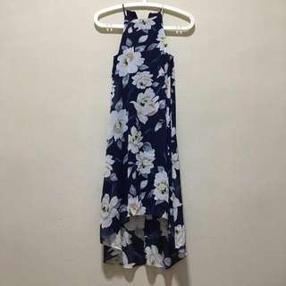 Shopsassydream Dakota Dress in Navy Blue Floral