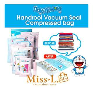 💋 DORAMON HAND ROLL VACUUM COMPRESSED BAGS