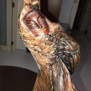 海黄芭蕾舞雕像