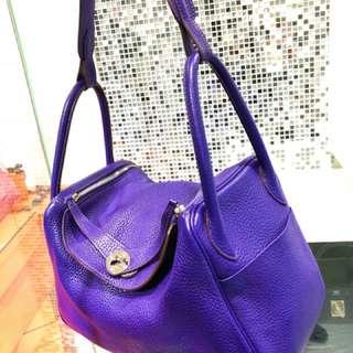 Hermes Lindy 30 紫色