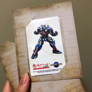 Limited Edition Transformers EZ link