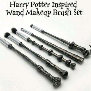 Harry Potter inspired wands makeup brushes