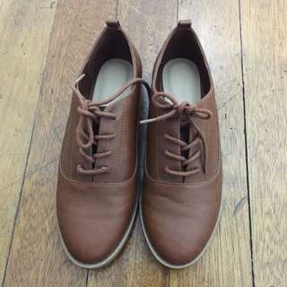 Forever 21 Brown Oxford Shoes