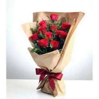 Valentine's Flower Bouquet Vday Delivery 10F1C     52