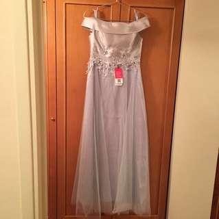 姊妹裙 姐妹裙 灰色 婚紗 party dress