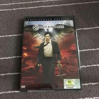 Constantine Movie DVD