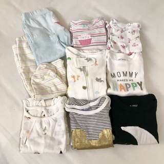 Baby Sets 3-6m — All for RM80 (Free Shipping)