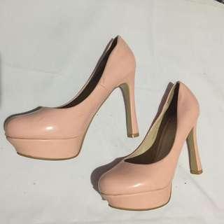 Pastel Pink Parisian Heels