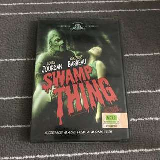 Swamp Thing Movie DVD