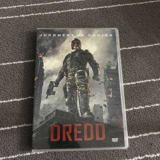 Dredd Movie DVD
