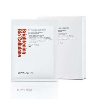 Royal Skin Brightening Bio Cellulose Mask