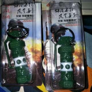 Grenade keychains