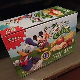 迪士尼全天然凍乾水果 Disney Freeze Dried Fruit Crisps