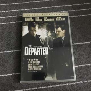 The Departed Movie DVD