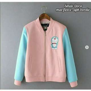 Jaket switer doraemon