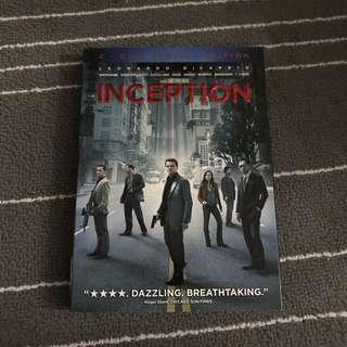Inception Movie DVD