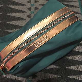 全新💚Lamer綠色化妝袋💚