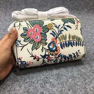 TORY BURCH Parker Double - Zip Floral Mini Bag
