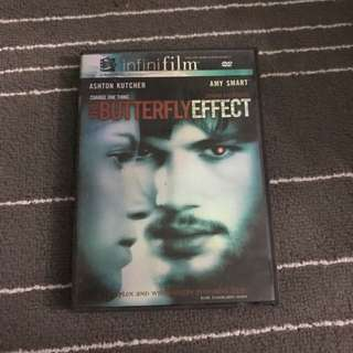 The Butterfly Effect Movie DVD