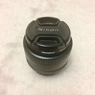 Nikon 50mm 1.8 AF Nikkor Lens
