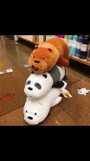 (PO) WE BARE BEARS PLUSH