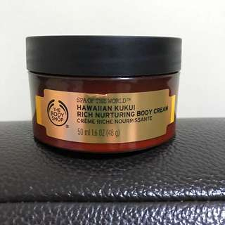 The Body Shop Body Hawaiian Kukui Rich Nurturing Body Cream
