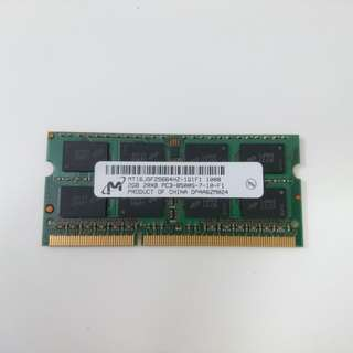 Micron 2GB DDR3 Laptop Ram