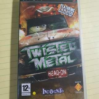 Negotiable Original PSP UMD Twisted metal: head on.