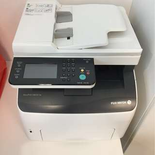 Fuji Xerox DocuPrint CM225 fw (with Toners, Cables, Docs) Printer Scanner Copier