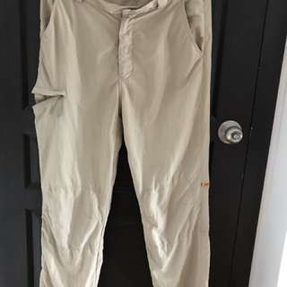 Unlincensed hiking and trekking pants
