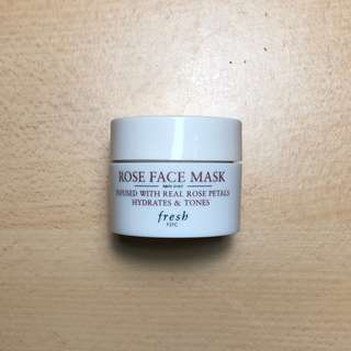 Fresh Rose Face Mask - 15ml (0.5oz)