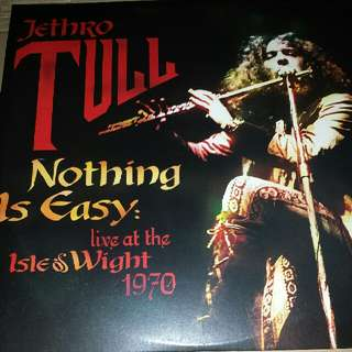 Vinyl Record / 2xLP: Jethro Tull ‎– Nothing Is Easy - Live At The Isle Of Wight 1970 - Classic Prog Rock Live, Gatefold Sleeve, PCV002LP