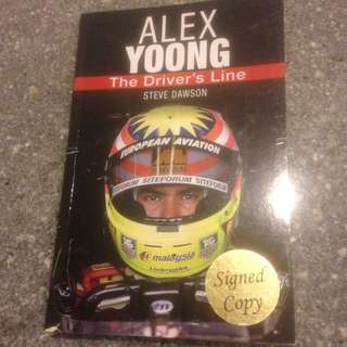 Alex Yoong- The Driver's Line by Steve Dawson (Signed Copy)